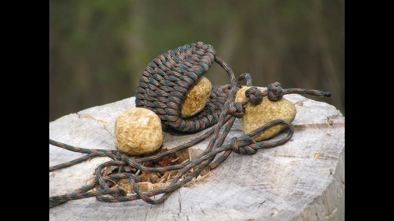 Paracordist How To make a paracord sling with a simple DIY jig; and rock slinging technique
