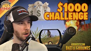 Drunkwuz Presents: The $1000 Challenge ft. Swagger - chocoTaco PUBG Gameplay