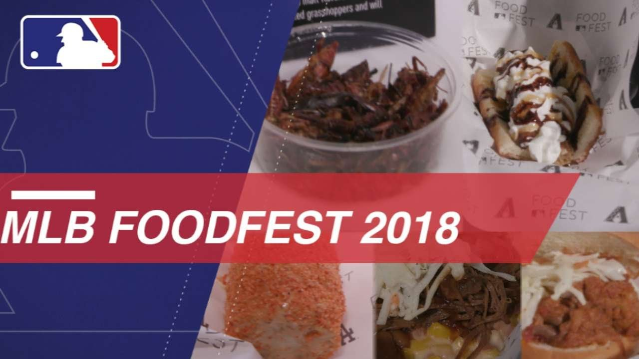 Check Out The Best Of Mlb Foodfest 2018 Youtube