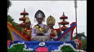 SMA Hang Tuah 5 Candi pawai budaya pesta rakyat 2016