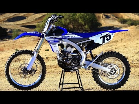 First Ride 2016 Yamaha YZ450FX Off Road Bike - Motocross Action Magazine