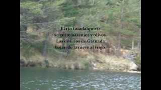 Federico García Lorca - Baladilla de los tres ríos, por María P.