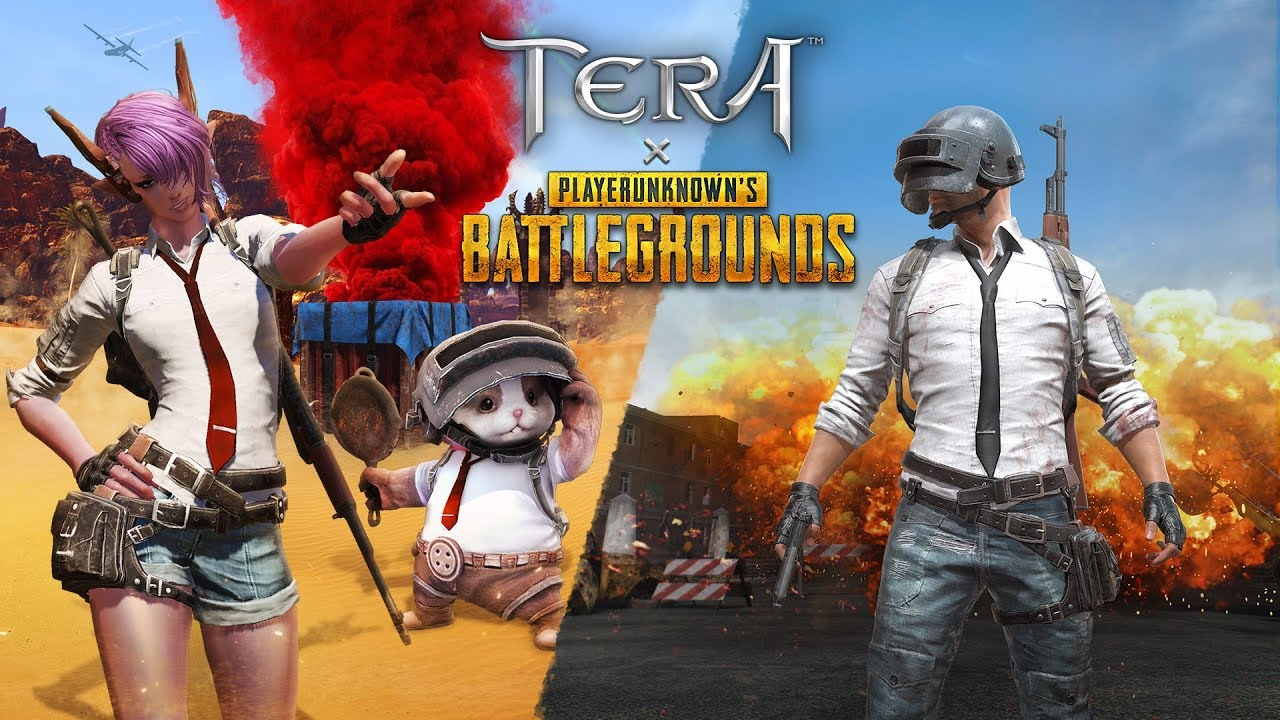 TERA / PUBG Crossover Event is Now Live on PC & Console