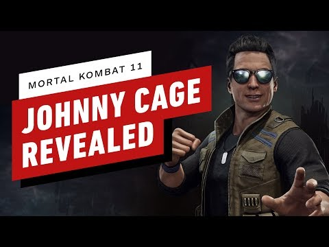 Mortal Kombat 11 - Johnny Cage Reveal Trailer