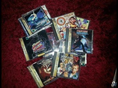 My Japanese SEGA Saturn Collection