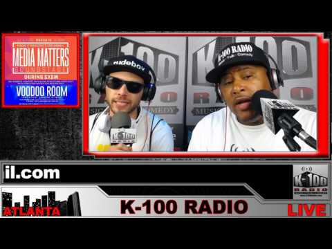 Media Matters SXSW 2017 K-100 Radio with DJ Guess Who