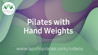 Full body Pilates workout with Hand Weights