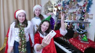 We Three Kings performed by Caitlyn, Emily, and Imogen