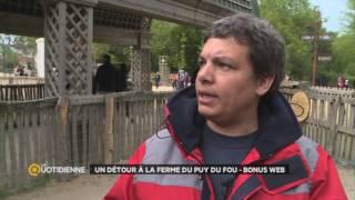 Bonus web : un détour à la ferme du Puy du Fou
