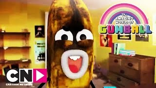 Скачать Удивительный мир Гамбола Видеоблог Бананы Джо короткометражка Cartoon Network