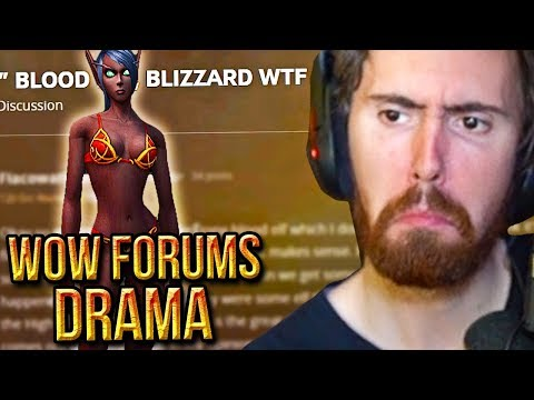 Asmongold Comments On WoW Forums Drama - NEW Black Blood Elves Models