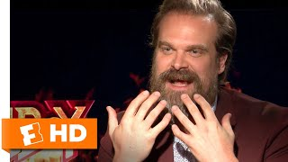 David Harbour Describes His Ghoulish Makeout Scene in 'Hellboy' | Exclusive Interview
