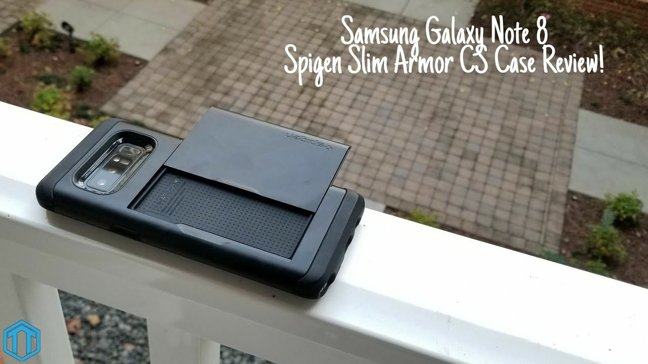 best website 95aec cd6a4 Samsung Galaxy Note 8 Spigen Slim Armor CS Case Review!