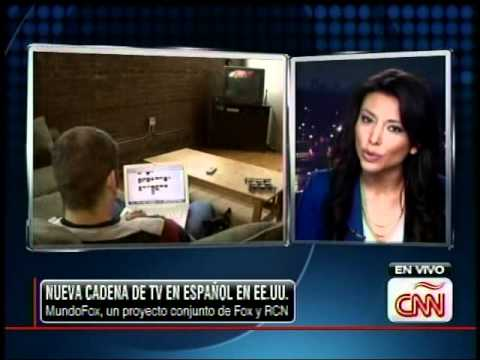 MUNDOFOX News Corp Launches Spanish Channel | Fox y RCN | CNN en Español  con Lili Gil