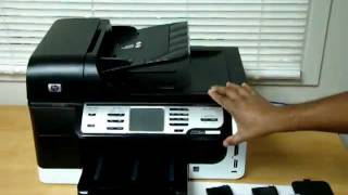hp officejet pro 8500 ink printhead removal