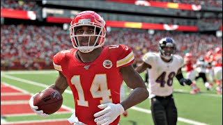Baltimore Ravens vs Kansas City Chiefs– Madden NFL 20 Week 3 NFL Sunday 9/22/2019