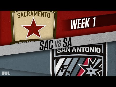 Sacramento Republic FC vs San Antonio FC: March 17, 2018