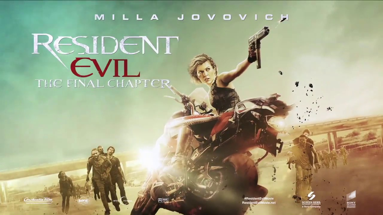 Resident Evil The Final Chapter Motion Poster Youtube