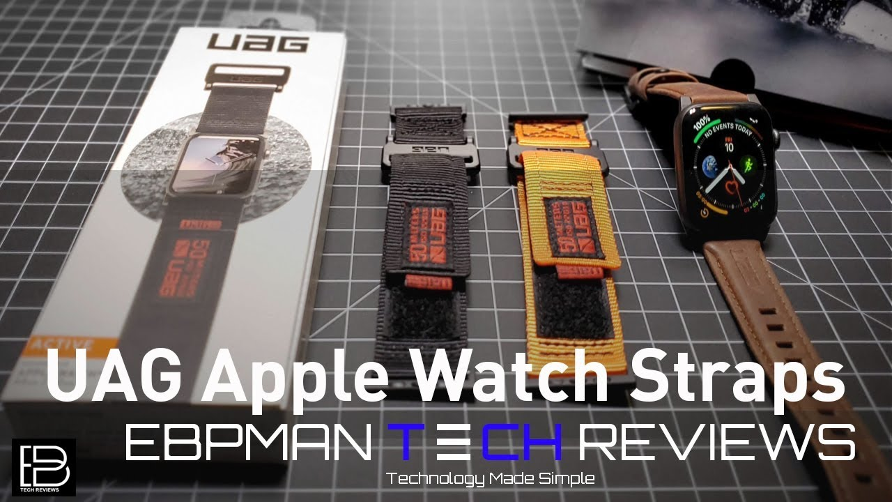 online store 60f72 ebf67 UAG Apple Watch Bands Review