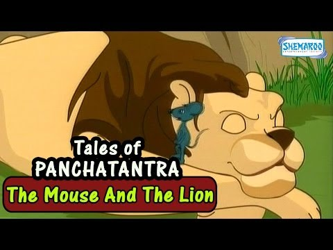 Tales From The Panchatantra - The Mouse And The Lion - Stories With Moral