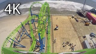 Video Hydrus front seat on-ride 4K POV Seaside Heights download MP3, 3GP, MP4, WEBM, AVI, FLV Agustus 2018
