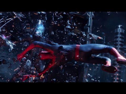 Spiderman Vs Electro   Batalla Final   El Sorprendente Hombre Araña 2   The Amazing Spiderman 2   4k