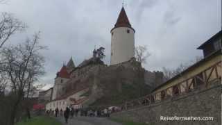 Tschechien: Weihnachtsmarkt Castle Krivoklat by Reisefernsehen.com - Reisevideo / travel video