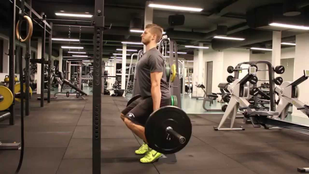 Barbell hack squat thomas moberg fitness youtube