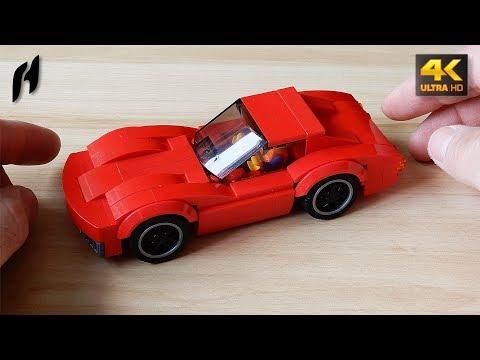 How to Build Chevrolet Corvette Stingray C3 (MOC - 4K)