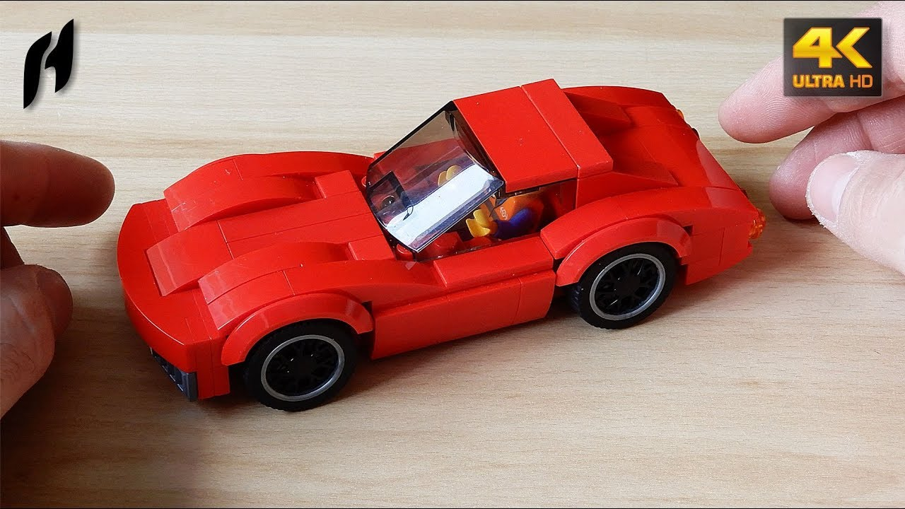 How To Build Chevrolet Corvette Stingray C3 Moc 4k Youtube