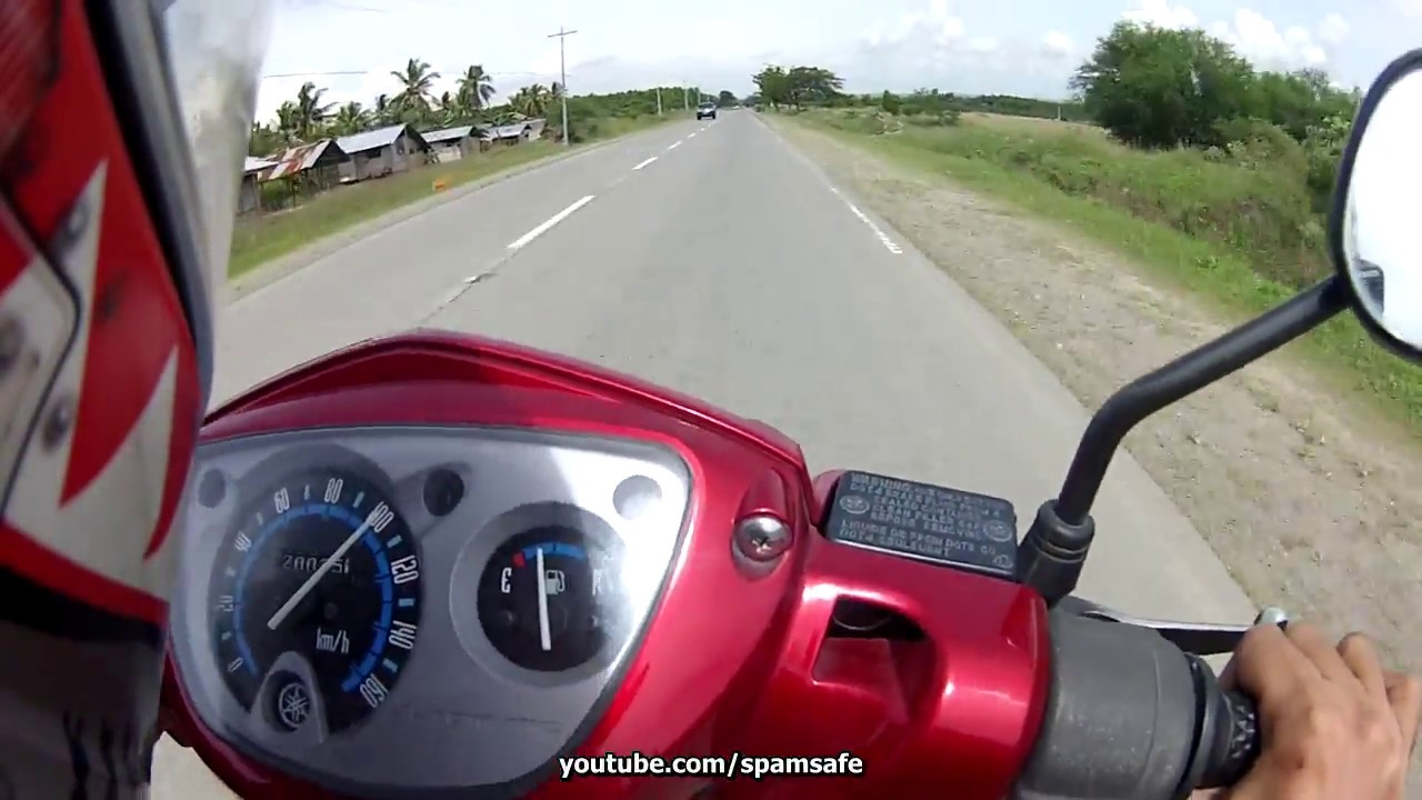 Gps yamaha nouvo z top speed 100 stock