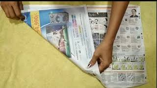 How to make newspaper boat in 1 minute| K Lifestyle|