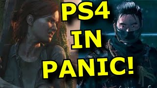 Sony is in PANIC Mode! Leaks FORCE Last Ps4 Games to Release SOON!