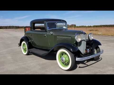 1932 Ford 3 Window Rumble Seat Roadster For Sale~Very Rare All Steel Roadster