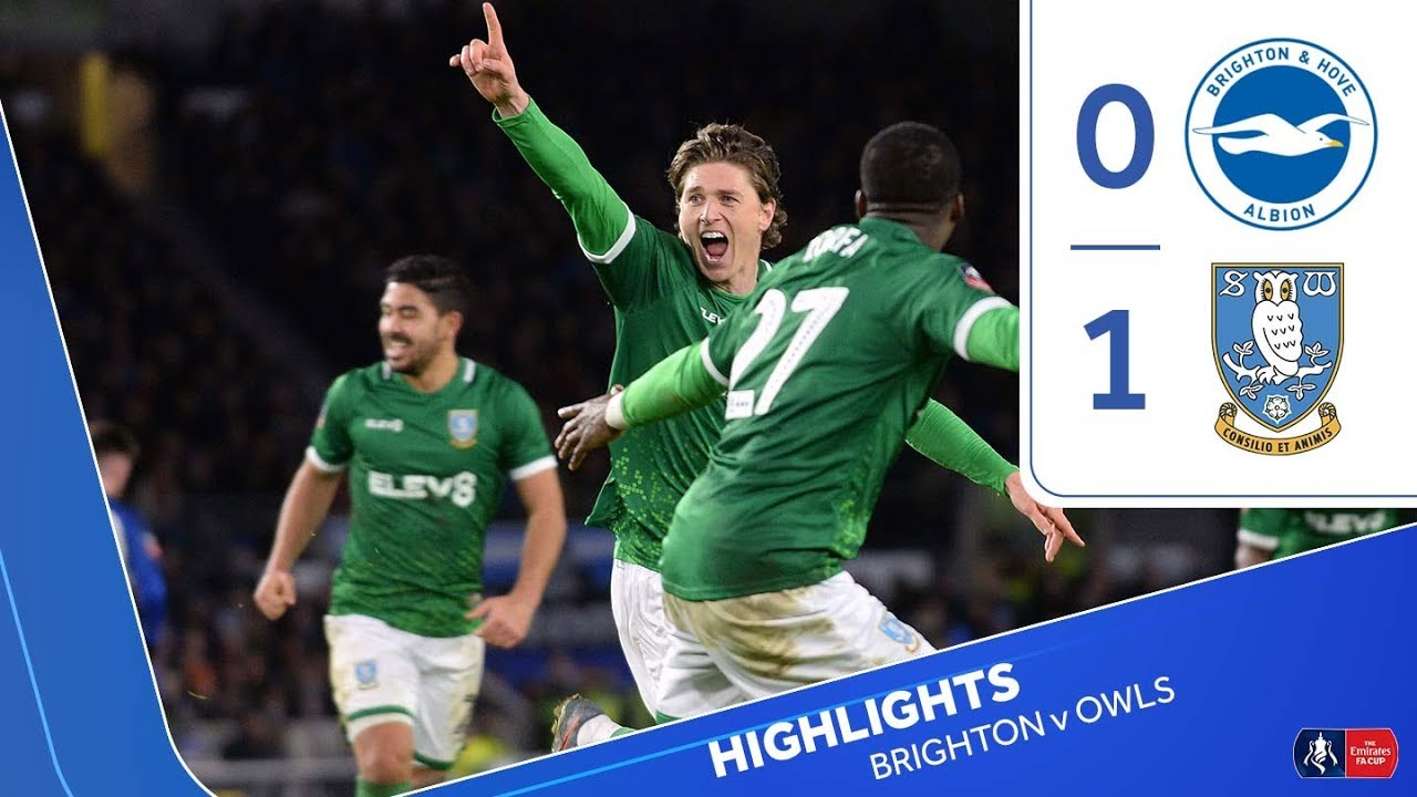 Brighton & Hove Albion 0 Sheffield Wednesday 1 | FA Cup | 201920