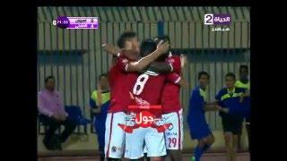 هدف الأهلي الرابع في أسوان مقابل 0 مؤمن زكريا الدوري 12 مايو 2016