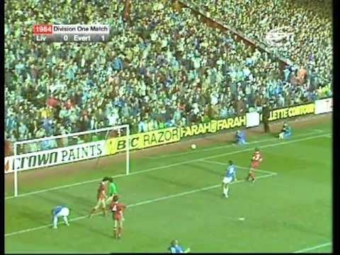 EVERTON 1984-85 SEASON - Liverpool 0 Everton 1 - 20th October 1984