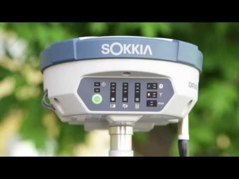 Спутниковый ГНСС-приемник SOKKIA GRX2 / GNSS-reciever SOKKIA GRX2