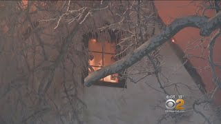 Freezing Cold Makes Scarsdale Fire More Dangerous