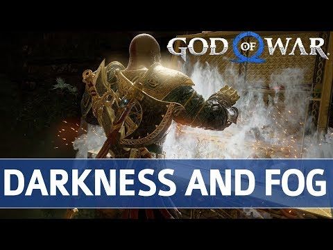 God of War - Darkness and Fog Trophy Guide (All Treasure in Workshop's Center Chamber)