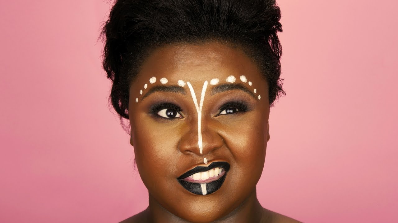 vintage makeup looks black skin makeupwaco