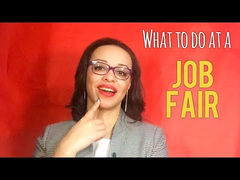 WHAT TO DO AT A JOB FAIR