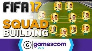 FIFA 17 - Ultimate Team Squad Builder Gameplay