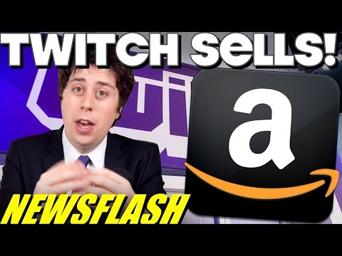 Amazon Buys Twitch for $970m!! - NEWSFLASH