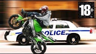 MOTO VS POLICE VS COPS / HARD CHASE