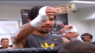 Manny Pacquiao $5 Challenge at the Wildcard Gym