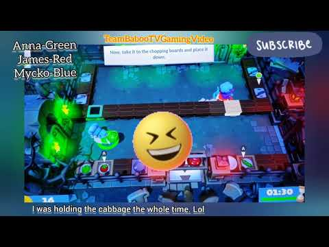 Overcooked Game in Nintendo Switch | First Try! |