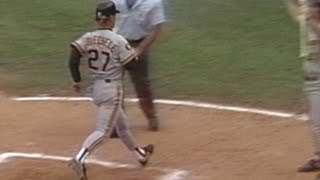 1991NLCS Gm5: Lind drives in game