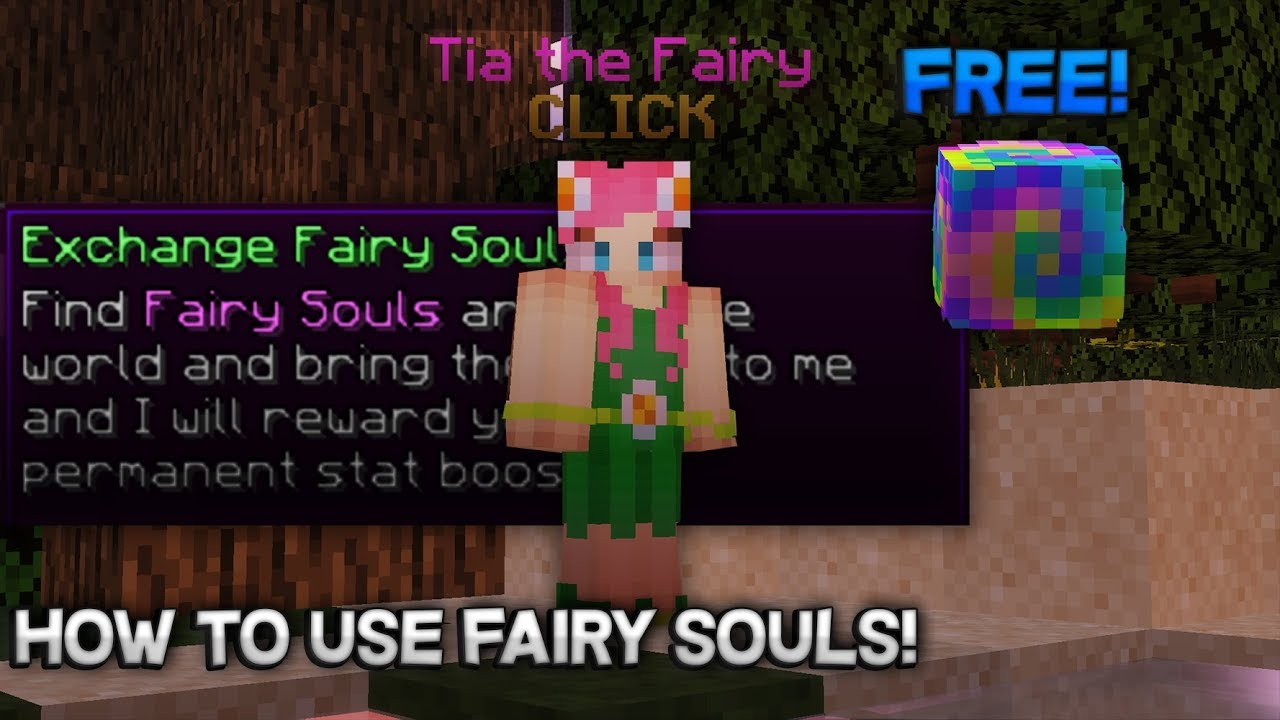 How to Use Fairy Souls (Hypixel Skyblock)