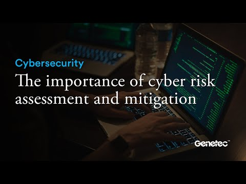 Cybersecurity - Cyber risk assessment and mitigation